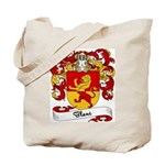 Blanc Family Crest Tote Bag