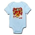 Blanc Family Crest Infant Creeper