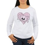 Kitty Bones Women's Long Sleeve T-Shirt