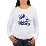 Skull King Women's Long Sleeve T-Shirt