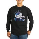 Skull King Long Sleeve Dark T-Shirt