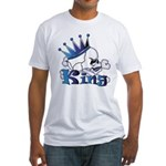 Skull King Fitted T-Shirt