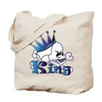 Skull King Tote Bag