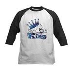 Skull King Kids Baseball Jersey