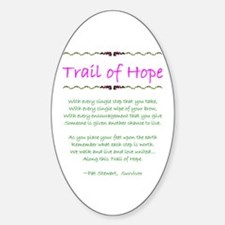 Trail of Hope Oval Decal