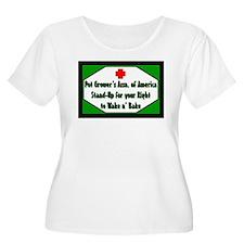 POT GROWER'S OF AMERICA LOGO T-Shirt