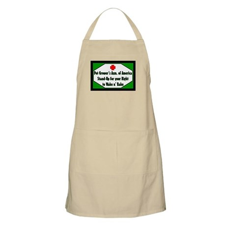 POT GROWER'S OF AMERICA LOGO BBQ Apron