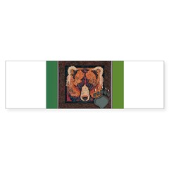 Harrington Bear Bumper Sticker (50 pk)
