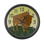 Buffalo Giant Clock