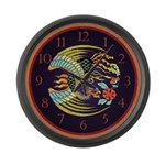 Firebird Giant Clock