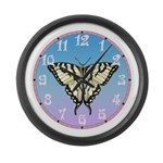 Zebra Swallowtail Giant Clock