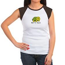 Speedy Turtle Women's Cap Sleeve T-Shirt