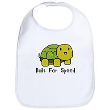 Speedy Baby Turtle Bib