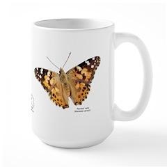 Painted Lady Butterfly Large Mug*