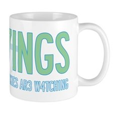 Sigh7ings UFO Slogan Mug