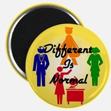 """""""Different Is Normal"""" Magnet 4"""