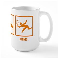Eat Sleep Tennis Large Mug