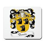 Bonnin Family Crest Mousepad