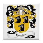 Bonnin Family Crest Tile Coaster
