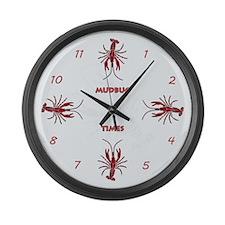 Mudbug Times Giant Clock