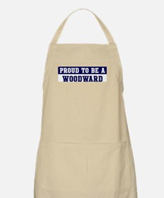 Proud to be Woodward BBQ Apron