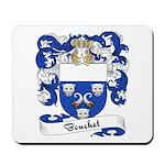 Bouchet Family Crest Mousepad