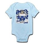Bouchet Family Crest Infant Creeper
