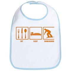 Eat Sleep Snowboard Bib