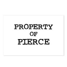 Property of Pierce Postcards (Package of 8)