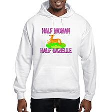 Half Woman Half Gazelle Hoodie