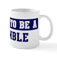 Proud to be Womble Small Mugs