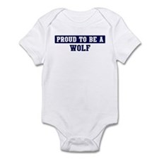 Proud to be Wolf Infant Bodysuit