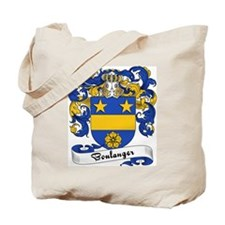 Boulanger Family Crest Tote Bag