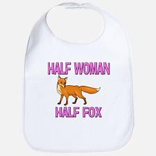 Half Woman Half Fox Bib
