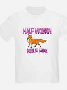 Half Woman Half Fox T-Shirt