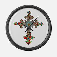 Jewel Cross Giant Clock