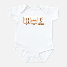 Eat Sleep Rhythmic Gymnastics Infant Bodysuit