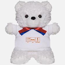 Eat Sleep Rhythmic Gymnastics Teddy Bear