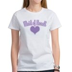 Maid of Honor: Classy Violet Women's T-Shirt