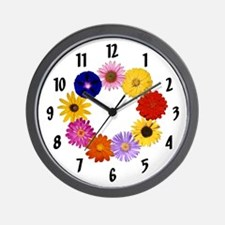 Flower Clock (with numbers)
