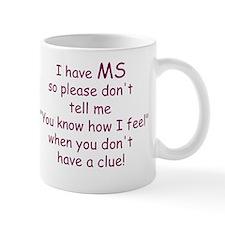 MS Walk Small Mug