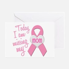 Missing My Mom 1 BC Greeting Card