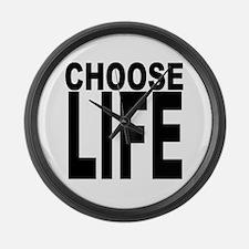 Choose Life Giant Clock