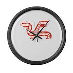 Dragon logo Distressed Giant Clock