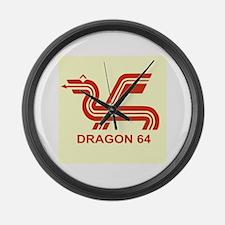 Dragon 64 Giant Clock