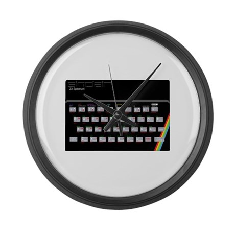 Sinclair ZX Spectrum Giant Clock