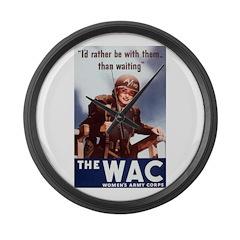 WAC Giant Clock