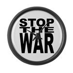 Stop The War Giant Clock