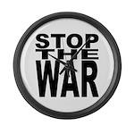 Stop The War Giant Clock