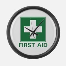 First Aid Giant Clock